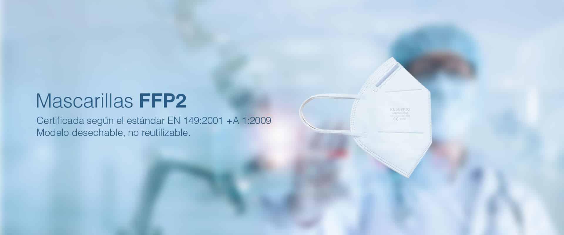 Mascarillas FFP2 - KN95